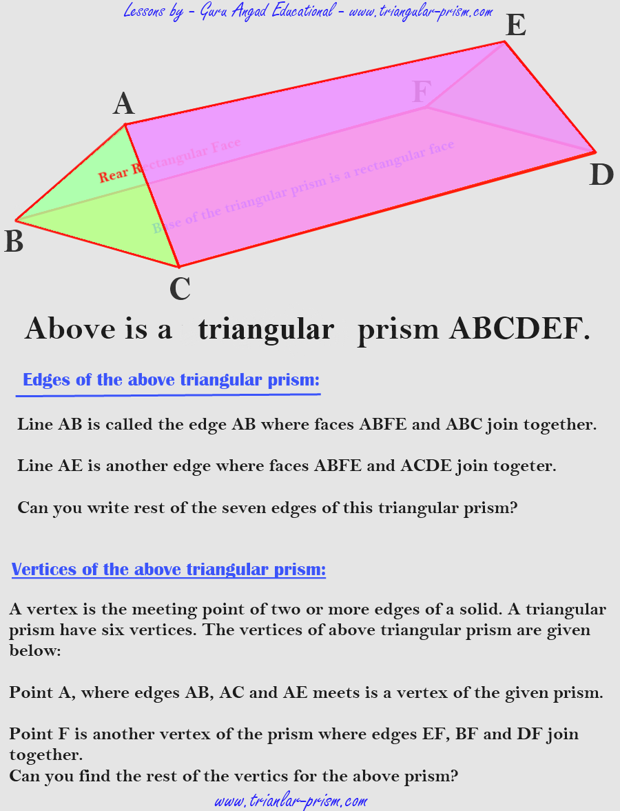 Uncategorized Surface Area Of A Triangular Prism Worksheet free worksheets lessons about a triangular prism livebinder basics it have five faces six vertices and nine edges