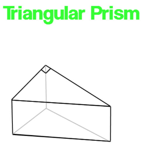 triangular solid prism